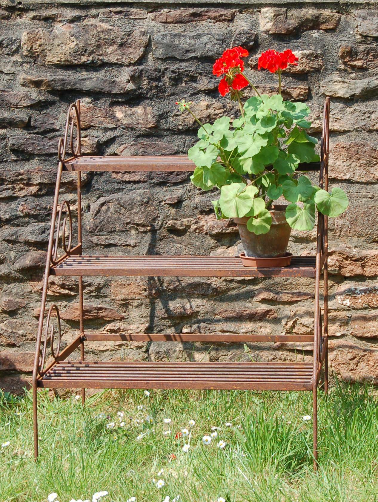 Stepped Plant Stand from Wessex Forge UK
